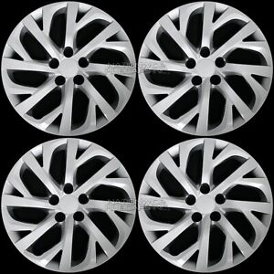4 For 2009 2019 Toyota Corolla 16 Hub Caps Full Set Wheel Covers Fit Steel Rims