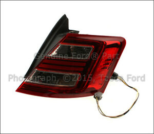 New Genuine Ford Oem Rh Right Passenger Side Tail Light Assembly 2010 16 Taurus