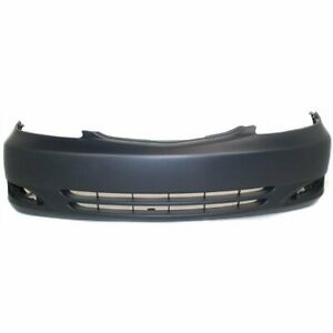 Bumper Cover For 2002 2003 2004 Toyota Camry Se Usa Built Front Paint To Match