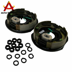 Set Left And Right Of 10 X 2 1 4 Trailer Electric Brake Assembly Brand New
