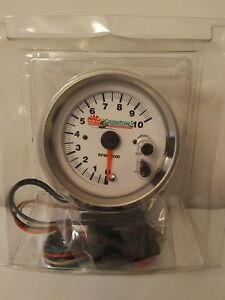 Mac Tools Gatornationals Tachometer 3 3 4 Inch W Shift Light Rare New
