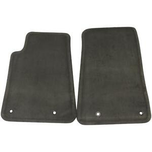 22926414 Front Floor Mats Black Carpet New Oem Gm 2010 15 Chevy Camaro