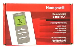 Honeywell Zonepro Floating Control Thermostat Tb6980b1006