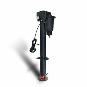 Trailer Jack Electric Power Tongue Removable Foot Pad 3 Bolt Mounting