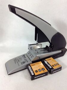 Bostitch Heavy Duty Stapler B380hd Stanley Auto 180 Binds 180 Sheets W 2 Boxes