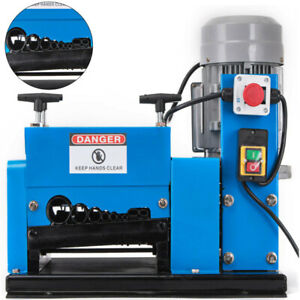 Electric Wire Stripping Machine 9 Channels 13 Blade 2hp 22 9m min Cable Stripper
