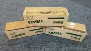 580 Pieces Kimble Chase Borosilicate Glass 6x50mm Disposable Culture Tube New