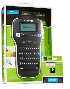 Dymo Labelmanager 160 Handheld Label Maker With 1 Extra Roll Of D1 Labeling Tape