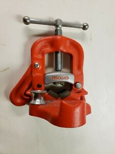 Ridgid No 21 Pipe Clamp Bench Vise 1 8 To 2