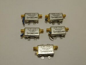 Lot Of 5 Mini circuits Zx76 31 pp s Dc 2400mhz Digital Step Attenuator