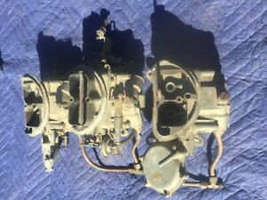 440 Six Pack Carburetors Original Mopar Six Barrell Dodge Plymouth