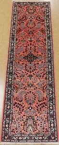 Persian Rug Tribal Hand Knotted Wool Rose Oriental Rug Runner 2 10 X 9 2