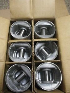 1946 54 Kaiser Frazer 6cyl Continental F6226 Engine 6 Nors Silvolite Pistons