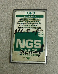 Ford Ngs Obd Ii Green Service Card Hickok Inc 2000
