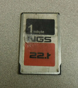 Ford Ngs 22 1 Data Transfer Card 1 Mbyte