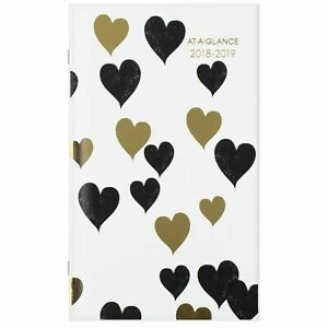 25 Pack At a glance Monthly Pocket Planner Jan 2018 Jan 2020 Love Letters