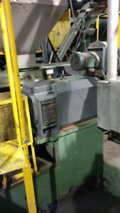 6 Davis Standard Extruder Pp 400 Hp With Wrp Water Ring Pelletizer