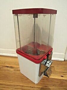 Gumball Machine Vintage Vending Machine With Lock And Key Working