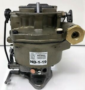 Rochester Bv 1 Bbl 63 67 6 Cyl Chevy Olds Pontiac Carburetor A t