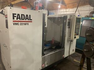 Fadal Model Vmc2216fx Vertical Machining Center With Fanuc Oi Control Cnc