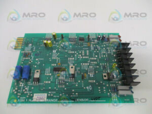Ird Mechanalysis Rp28827 03 Board Range 0 2000 Milg Sensor Lvdt used
