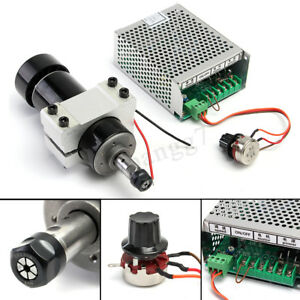 500w Spindle Motor Cnc Air Cooled Milling Spindle Speed Power Converter