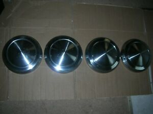 Ford Mercury 60 S Dog Dish Poverty Hubcaps 4 10 1 8 Id