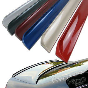 Painted For Acura Tl 3rd 4dr Saloon Rear Trunk Lip Spoiler Wing 2004 2008