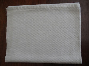 Vintage Linen Cotton Hand Towel Very Thick