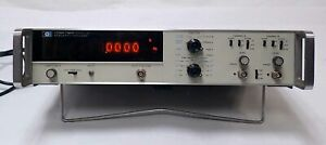Hp Agilent 5326a Timer counter dvm Nixie Display 0 50mhz Dual Channel Input Op1