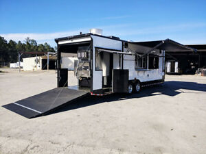 New 2019 28 Porch Trailer All Equipment Included Bathroom And Smoker Included