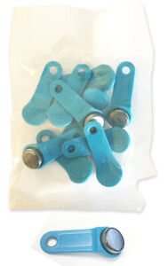 Light Blue Keytabs Ibuttons For Ibutton Job Site Time Clock