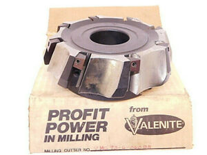 New Surplus Valenite Carbide Insert Indexable Face Mill 6 Vmc 93 6 0608r sfe