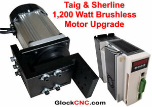 1 200 Watt Sherline Or Taig Lathe Mill Brushless Spindle Motor Upgrade 220v