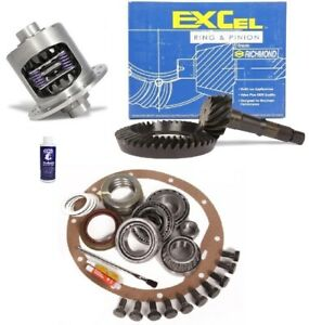 1965 1971 Gm 8 2 Chevy 10 Bolt 4 11 Ring And Pinion Duragrip Posi Excel Gear Pkg