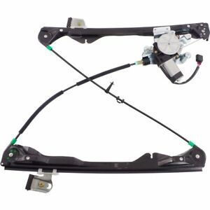 Power Window Regulator For 2008 2011 Ford Focus Front Driver Side With Motor