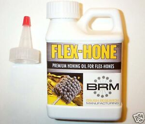 Hone Oil Brush Research Brm Flexhone Flex Hone Engine Cylinder Honing