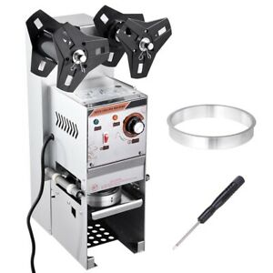 350w Commercial Boba Cup Sealer Sealing Machine Semi auto 110v 60hz Heavy Duty