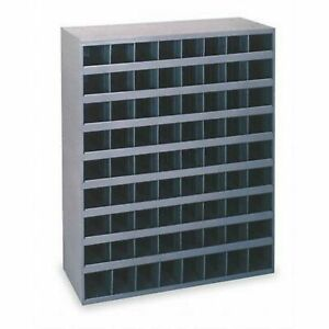 Metal 72 Hole Storage Bin Cabinet For Bolts Screws nuts Washers Fasteners
