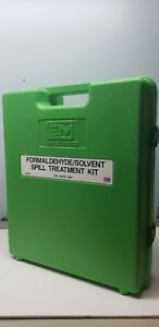 Em Science Formaldehyde Solvent Spill Treatment Kit In Case