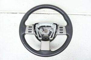 2005 2006 Nissan Altima Steering 3 5l Wheel Leather With Controls 48430 Zb905