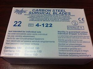Carbon Steel Surgical Blades 22