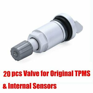 20 Tyre Pressure Monitor Sesnor Valve Repair Kit Tpms For X4 jaguar xf 2007