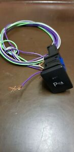 1pc Genuine Toyota Hilux Fortuner 2015 Up Parking Switch Control With Wiring
