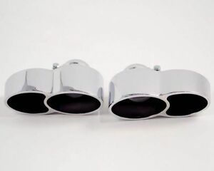 Agency Power Quad Oval Exhaust Tips For Porsche 997 Turbo 2007 2009