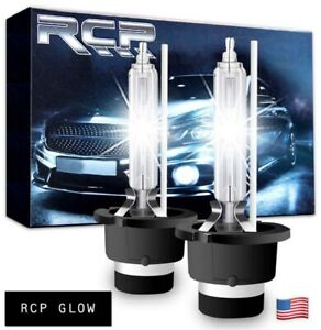 2x New Rcp D2s D2r 6000k 85122 66240 66040 Xenon Hid Replacement Bulbs Headlight