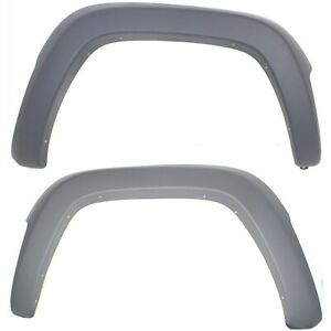 Fender Flares Set For 2002 2004 Jeep Liberty Front Left Right 2pc