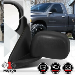 Left Driver Side Power Heated Foldable Mirror For 02 09 Dodge Ram 1500 2500