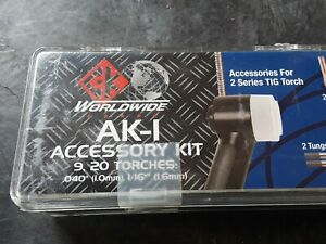 Ck Worldwide Ak 1 Accessory Kit For 2 Series Tig Torch