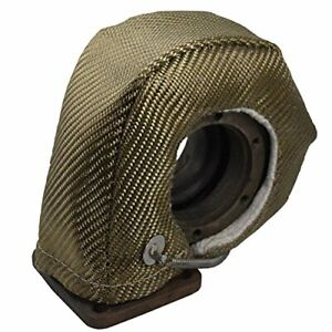 Heatshield Products 300076 Turbo Heat Shield Volcanic Fits T5 Flange Housings